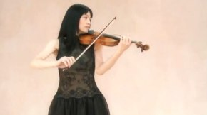 "Mariko Senju performs Kreisler's ""Liebesfreud"" (video)"