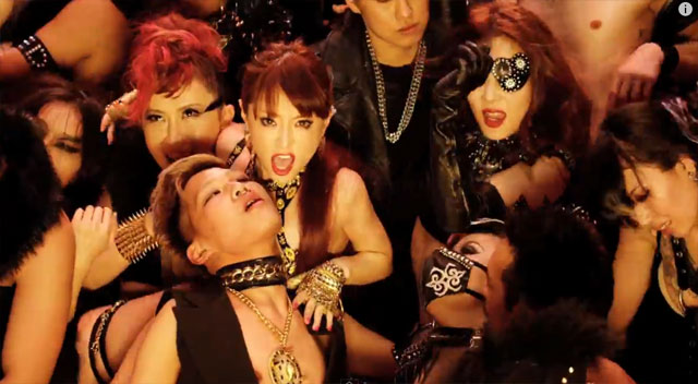 """""""WARNING!""""  Flesh on display in Ayumi Hamasaki's latest MV (video pantsu)"""