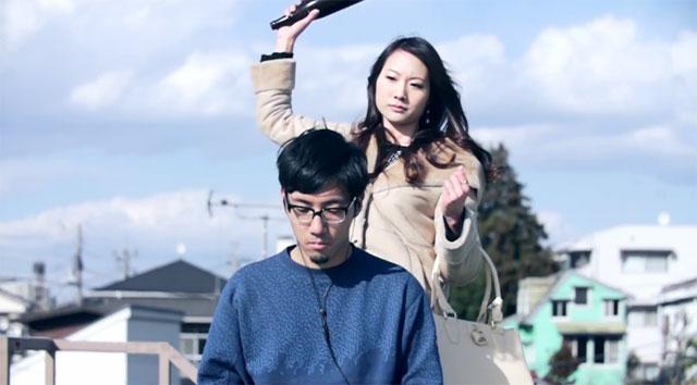 "Crack a bottle over tofubeats head in ""stakeholder"" MV"